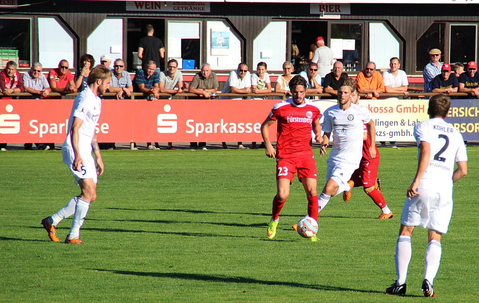 Bahlinger SC - SV 07 Elversberg - RL Südwest: Bahlinger SC - SV ...